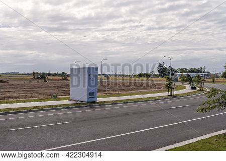 Mackay, Queensland, Australia - May 2021: Building Works Starting On A New Housing Subdivision To Ca
