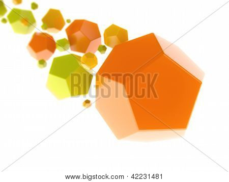 Geometrical Color Shapes (meteor)