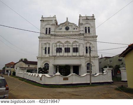 Galle, Sri Lanka - 10 Jan 2011: Meera Mosque, Galle, Sri Lanka