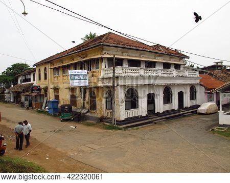 Galle, Sri Lanka - 10 Jan 2011: Old Town Of Galle, Sri Lanka
