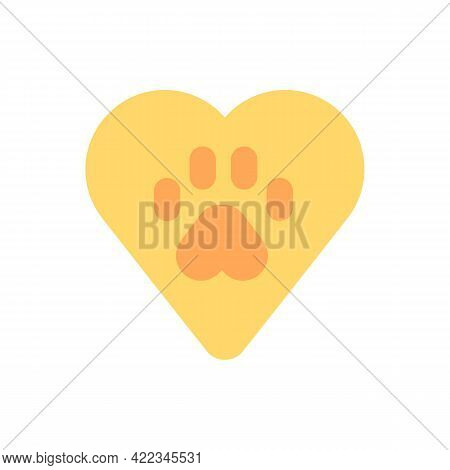 Animal Welfare Vector Flat Color Icon. Pet Health Care. Vet Service. Green Movement. Ecology And Env
