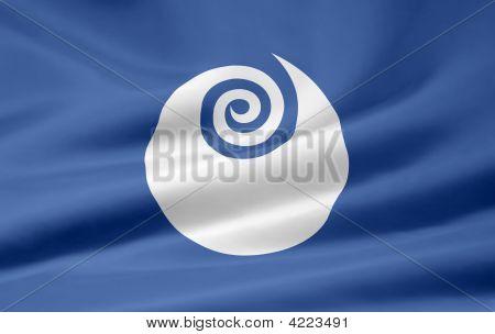 Flag Of Ibaraki - Japan
