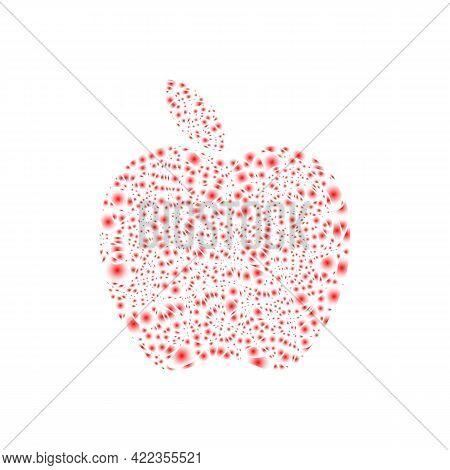 Illustration Vector Graphic Of Modern Apple Logo