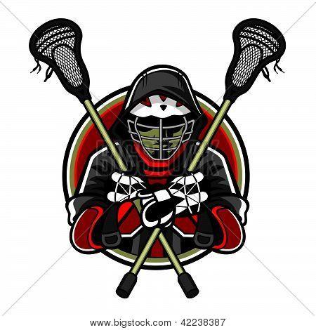 Lacrosse Mascot