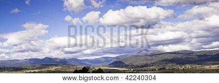 Panorama Of Mt Buler, Victoria, Australia
