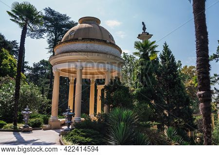 Sochi, Russia, July 27, 2019: The Best Resort In The South Of Russia, The Black Sea,, A View Of The