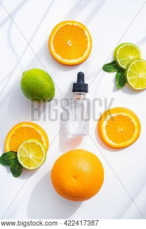 Hyaluronic Acid And Citrus Fruits . Cosmetic Procedures. Healthy Skin. Skin Care. Citrus Oil. White
