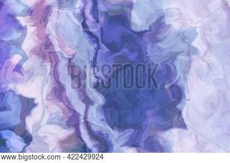 Abstract Prints. Texture With Marble Pattern As Background. Abstract Picture, Colorful Natural Stone