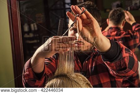 Healthy Hair. Professional Cosmetics. Annoy Barber Could Turn Out Poorly For Your Ear. Donation And