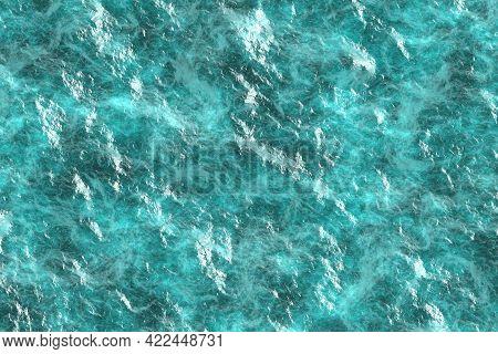 Creative Light Blue Stonework Abstractive Digital Graphics Backdrop Illustration