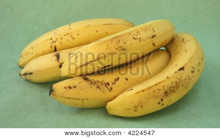 Bunch Of Bananas From Back.