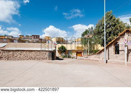 Ayquina, Antofagasta Region, Chile, South America - January 23, 2019: A View Of Ayquina, A Little Vi