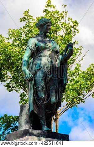 Flora Of Farnese Statue Near Cameron Gallery In Catherine Park At Tsarskoye Selo In Pushkin, Russia