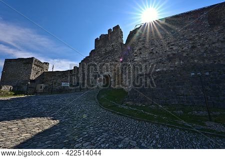 The Entrance Gate Of The Castle Of Berat