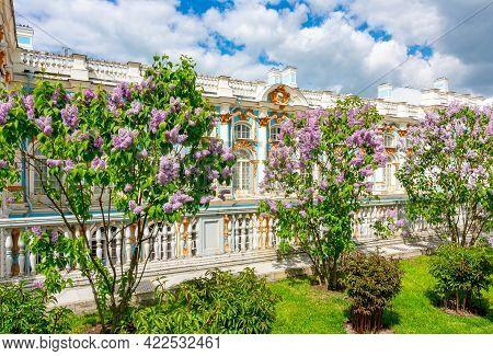 Catherine Palace In Tsarskoe Selo (pushkin) In Spring, Saint Petersburg, Russia