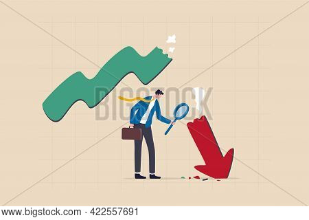 Market Crash Analysis, Learn From Failure Or Crisis And Recession Data, Analyze Or Measure Investmen