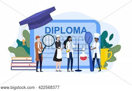 Vocational Education Certificate. Working Specialities Cleaners, Teacher, Cook, Detective, Assistant