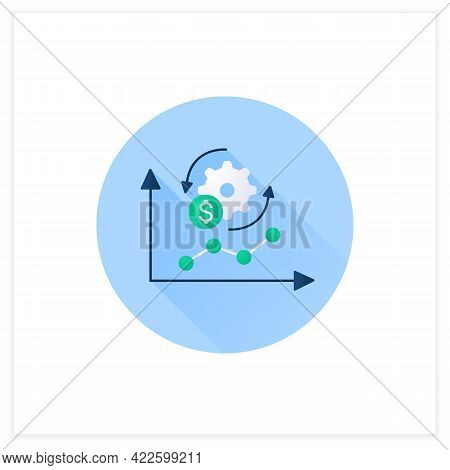 Economy Adaptation Flat Icon. Positive Changes, New Development, Better Technology.changes In Busine