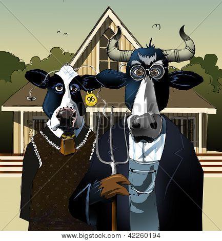 Gótico bovina