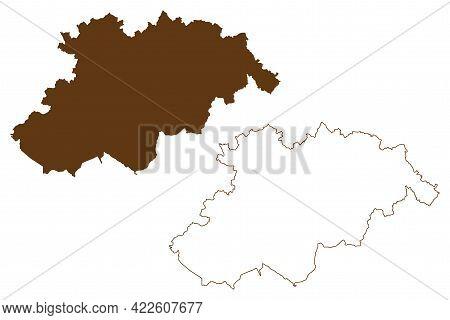 Erzgebirgskreis District (federal Republic Of Germany, Rural District Swabia, Free State Of Saxony)