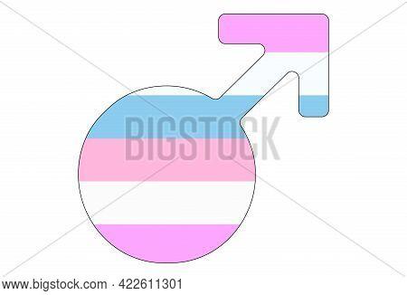 Lgbt Pride Flag, Rainbow Flag Background. Multicolored Peace Flag Movement. Original Colors Symbol.