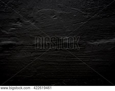 Black Cement Wall Concrete Polished Textured Background Abstract Color Material Smooth Surface, Grun
