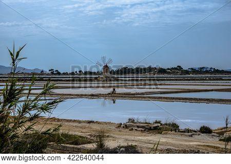 2021 05 29 Marsala Windmills In The Salt Flats 4