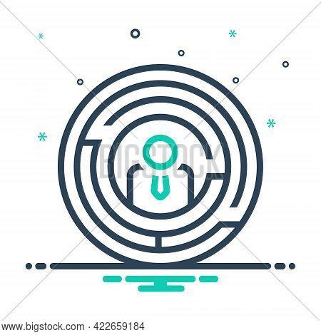 Mix Icon For Businessman-with-doubts Businessman Doubts Suspicion Puzzle Hesitancy