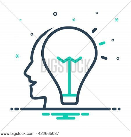 Mix Icon For Idea Opinion Conclusion Enterprising Visionary Consideration Thought Thinking