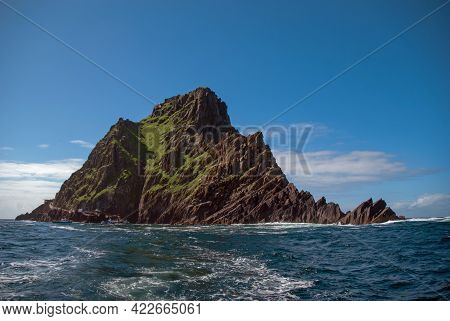 Skellig Michael A Unesco World Heritage Site.