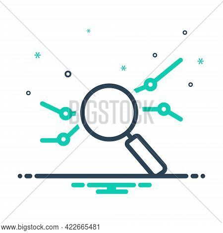 Mix Icon For Analysis Explication Inquiry Investigation Reasoning Scrutiny Partition
