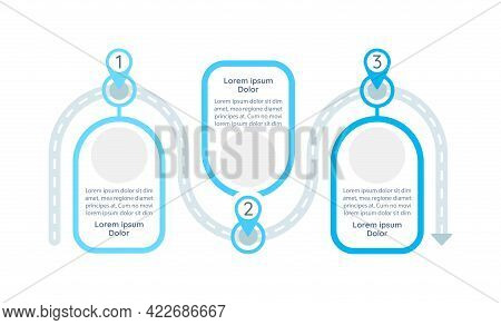 Problem-solving Process Vector Infographic Template. Researching Presentation Design Elements With T