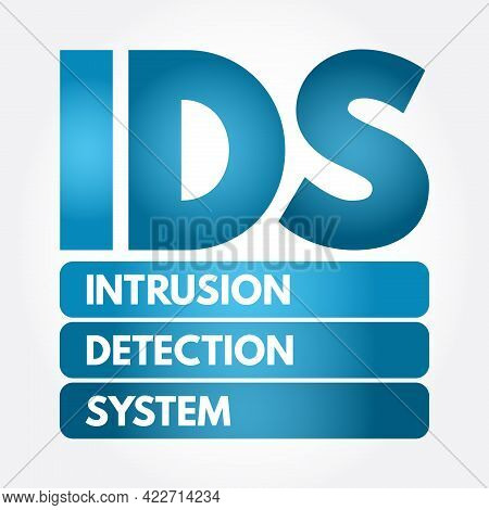 Ids - Intrusion Detection System Acronym, Technology Concept Background