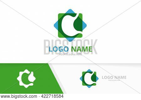 Vector Healthy Stomach Logo. Gastrointestinal Tract Logotype Design Template.