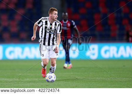 Bologna, Italy. 23th May 2021 . Dejan Kulusevski Of Juventus Fc  During The Serie A Match Between Bo