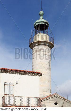 The Lighthouse In Grau Du Roi, France
