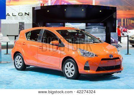 Toyota Prius C 2013 Chicago Auto Show
