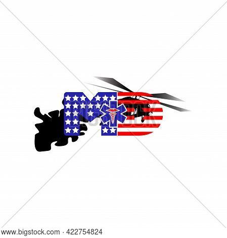 Illustration Vector Graphic Of Patriotic And Medic