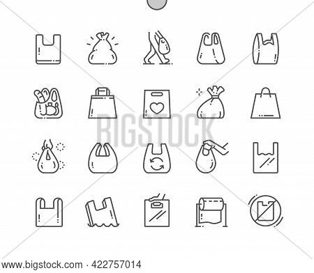 Plastic Bags. Packaging, Shopping, Polyethylene, Disposable, Recycling, Store And Shop. Plastic Wate