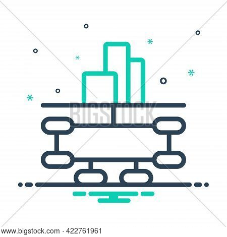 Mix Icon For Company-structure Company Structure Cooperation Design Hierarchy Organizational Infrogr