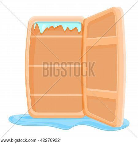 Door Refrigerator Repair Icon. Cartoon Of Door Refrigerator Repair Vector Icon For Web Design Isolat
