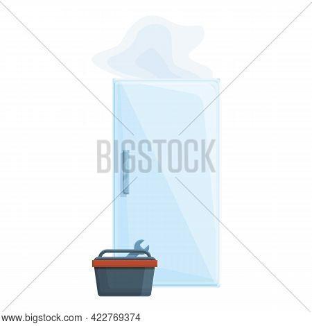 Tools Refrigerator Repair Icon. Cartoon Of Tools Refrigerator Repair Vector Icon For Web Design Isol