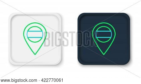 Line Location Russia Icon Isolated On White Background. Navigation, Pointer, Location, Map, Gps, Dir
