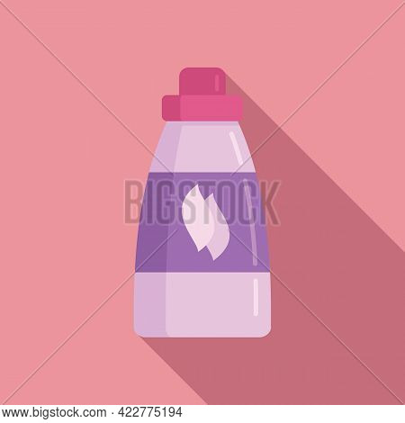 Softener Laundry Icon. Flat Illustration Of Softener Laundry Vector Icon For Web Design