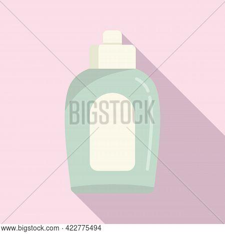 Softener Bleach Icon. Flat Illustration Of Softener Bleach Vector Icon For Web Design