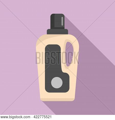 Softener Care Bottle Icon. Flat Illustration Of Softener Care Bottle Vector Icon For Web Design