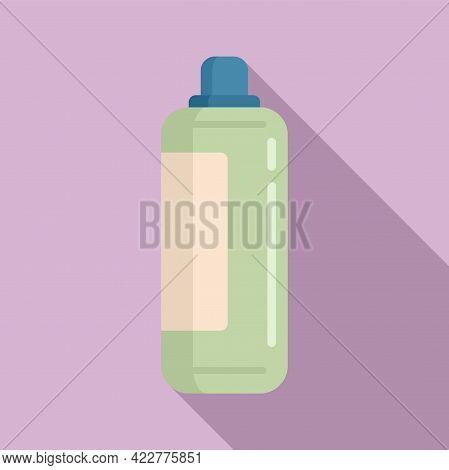 Softener Liquid Icon. Flat Illustration Of Softener Liquid Vector Icon For Web Design