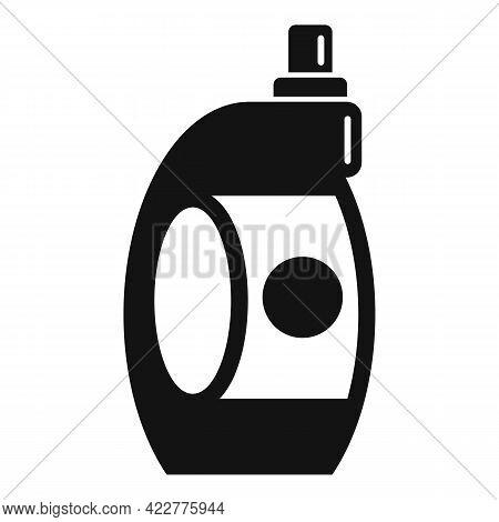Softener Bottle Icon. Simple Illustration Of Softener Bottle Vector Icon For Web Design Isolated On