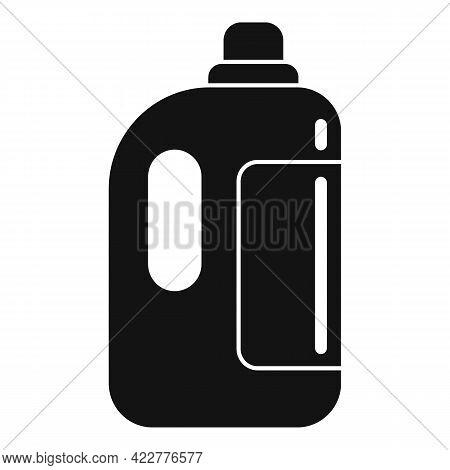Softener Liquid Bottle Icon. Simple Illustration Of Softener Liquid Bottle Vector Icon For Web Desig