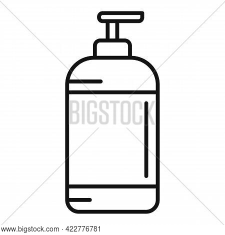 Softener Dispenser Icon. Outline Softener Dispenser Vector Icon For Web Design Isolated On White Bac